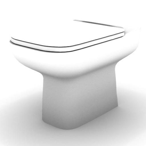 Cad 3D Free Model idealstandard Sanitari  conca_vaso