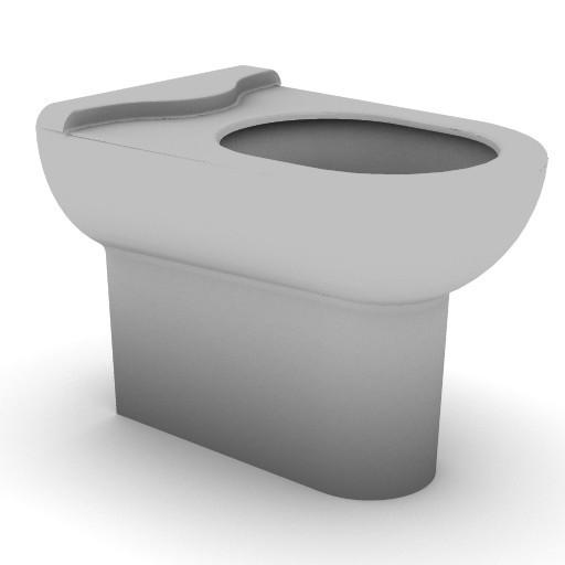 Cad 3D Free Model idealstandard Sanitari  diagonal_t3076