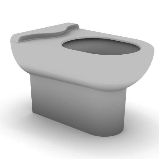 Cad 3D Free Model idealstandard Sanitari  diagonal_t3440