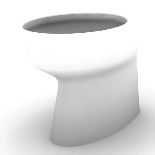 Cad 3D Free Model idealstandard Sanitari  ellisse_vaso