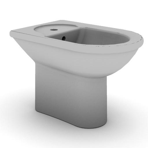Cad 3D Free Model idealstandard Sanitari  esedra_t5120