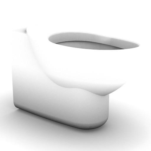 Cad 3D Free Model idealstandard Sanitari  fabula_t3456