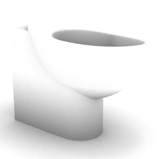 Cad 3D Free Model idealstandard Sanitari  fabula_t5020