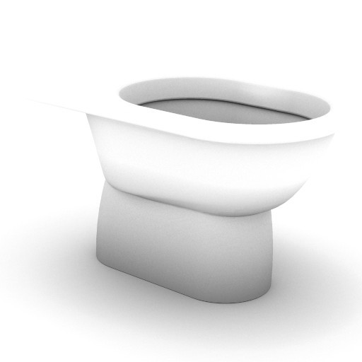 Cad 3D Free Model idealstandard Sanitari  fiorile_t3433