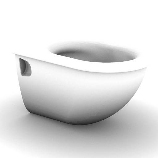 Cad 3D Free Model idealstandard Sanitari  fiorile_t3438