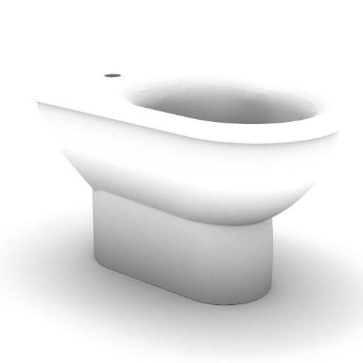 Cad 3D Free Model idealstandard Sanitari  fiorile_t5187