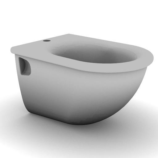 Cad 3D Free Model idealstandard Sanitari  fiorile_t5188