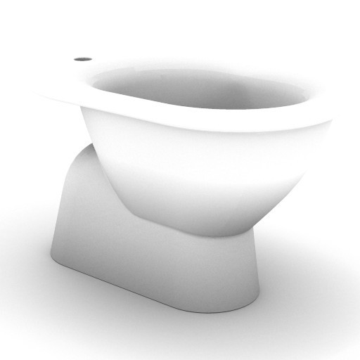 Cad 3D Free Model idealstandard Sanitari  fiorile_t5189