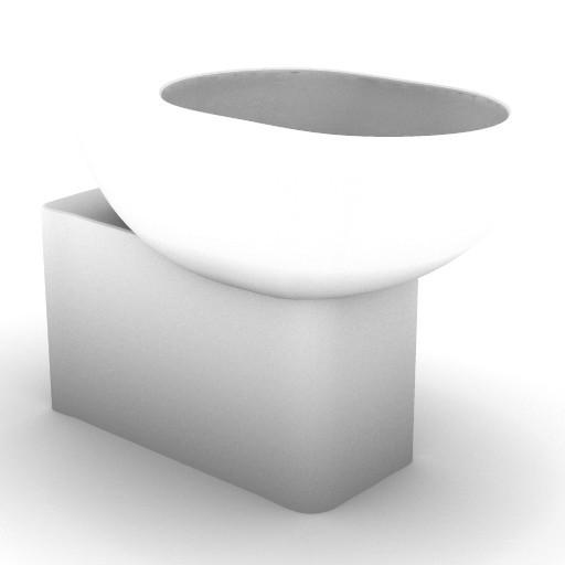 Cad 3D Free Model idealstandard Sanitari  linda_t3011