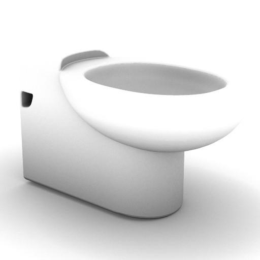Cad 3D Free Model idealstandard Sanitari  lirica_t3240