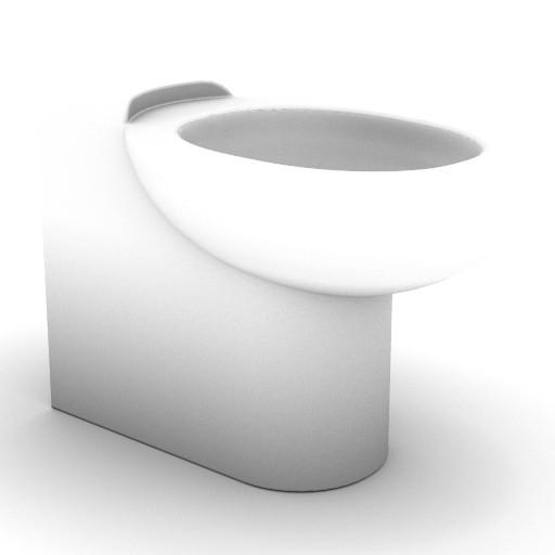 Cad 3D Free Model idealstandard Sanitari  lirica_t3426