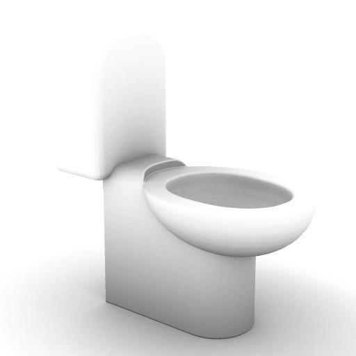 Cad 3D Free Model idealstandard Sanitari  lirica_t4187