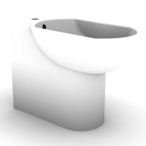 Cad 3D Free Model idealstandard Sanitari  lirica_t5172