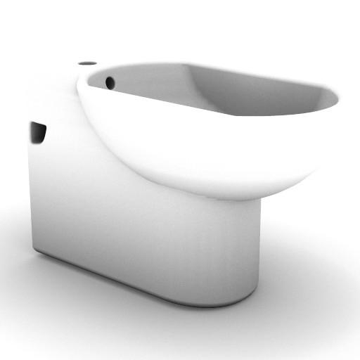 Cad 3D Free Model idealstandard Sanitari  lirica_t5219