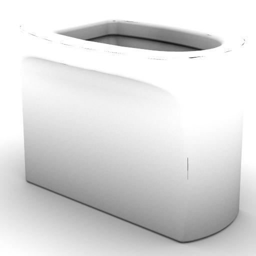 Cad 3D Free Model idealstandard Sanitari  nemea_t3132