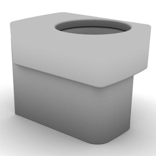 Cad 3D Free Model idealstandard Sanitari  newson_t3100