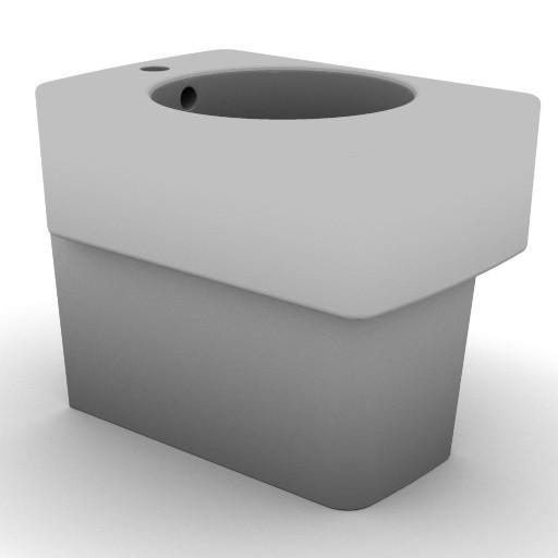 Cad 3D Free Model idealstandard Sanitari  newson_t5039