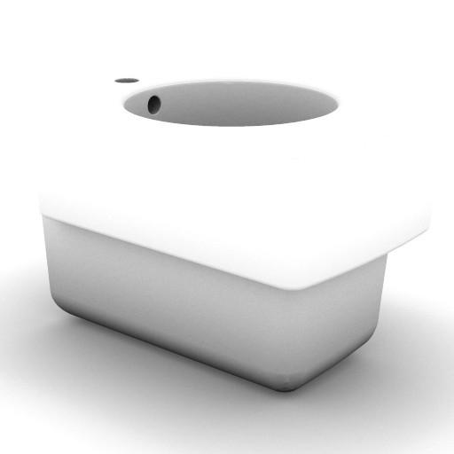 Cad 3D Free Model idealstandard Sanitari  newson_t5058