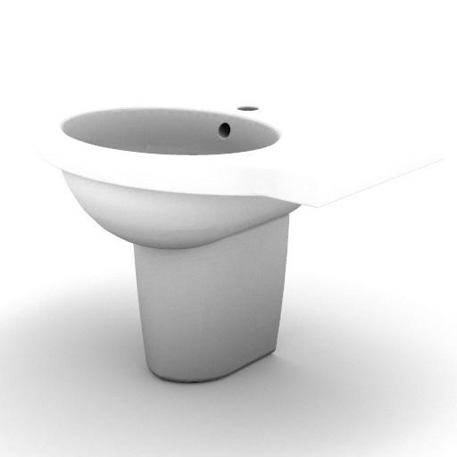 Cad 3D Free Model idealstandard Sanitari  small_t0770