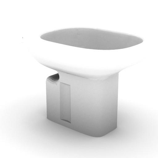 Cad 3D Free Model idealstandard Sanitari  tesi_t3036
