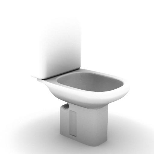 Cad 3D Free Model idealstandard Sanitari  tesi_t3037