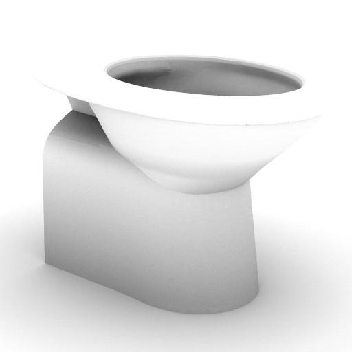 Cad 3D Free Model idealstandard Sanitari  tonda_t3418