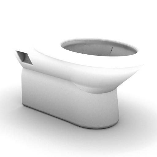Cad 3D Free Model idealstandard Sanitari  tonda_t3419