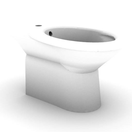 Cad 3D Free Model idealstandard Sanitari  tonda_t5620