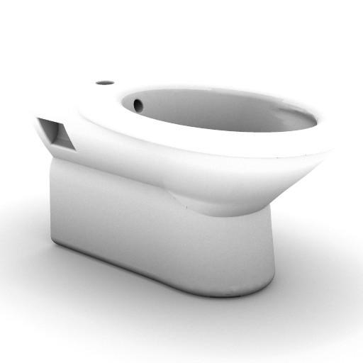 Cad 3D Free Model idealstandard Sanitari  tonda_t5621