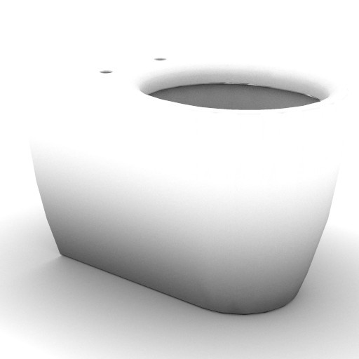 Cad 3D Free Model idealstandard Sanitari  tonic_vaso_sosp