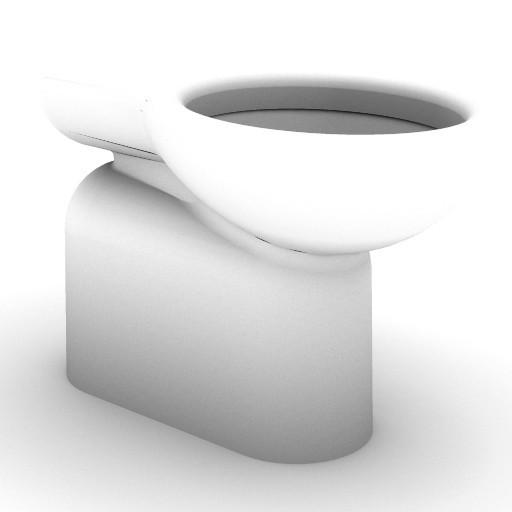 Cad 3D Free Model idealstandard Sanitari  verba_t3089