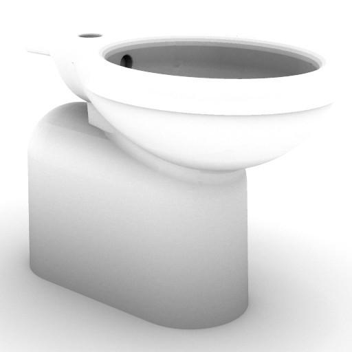 Cad 3D Free Model idealstandard Sanitari  verba_t5041