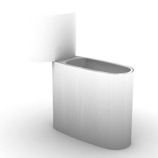 Cad 3D Free Model idealstandard Sanitari  xl_t4082