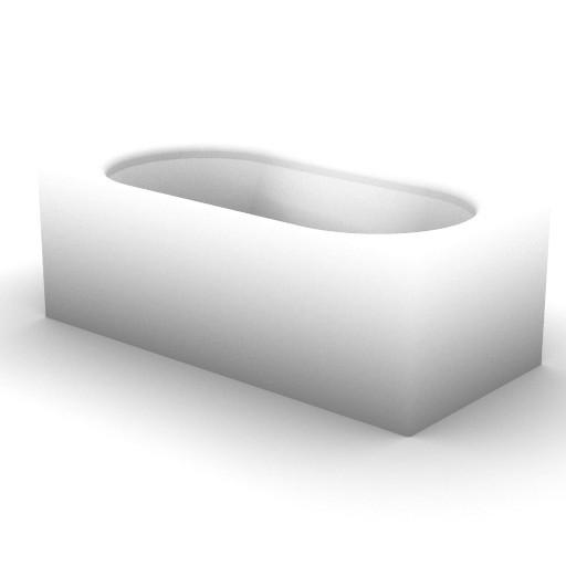 Cad 3D Free Model idealstandard Vasche  brilia_t8372