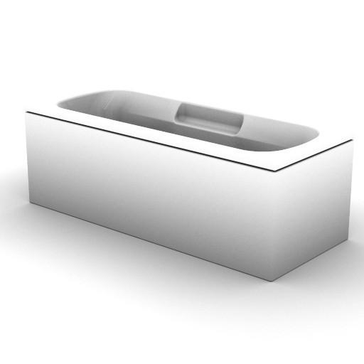 Cad 3D Free Model idealstandard Vasche  cuna_idro_t8708