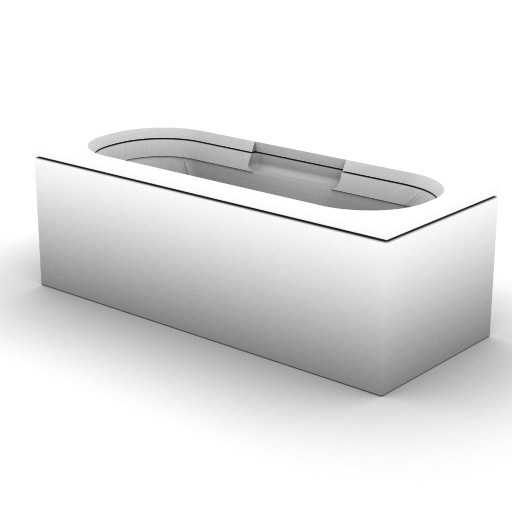 Cad 3D Free Model idealstandard Vasche  cuna_t6126