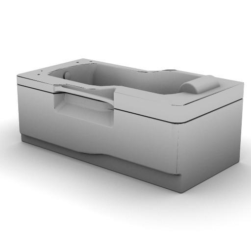 Cad 3D Free Model idealstandard Vasche  fabula_idro_t8504