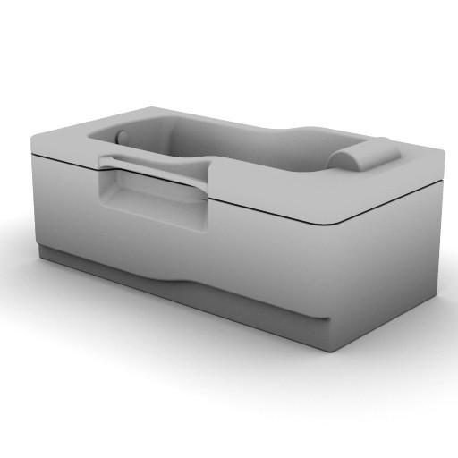 Cad 3D Free Model idealstandard Vasche  fabula_t6565