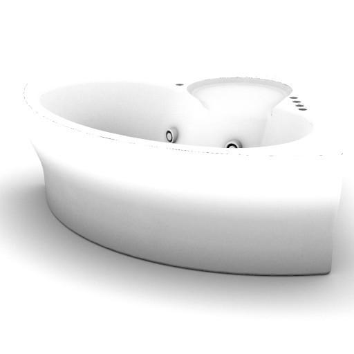 Cad 3D Free Model idealstandard Vasche  fluida_idro_t8579