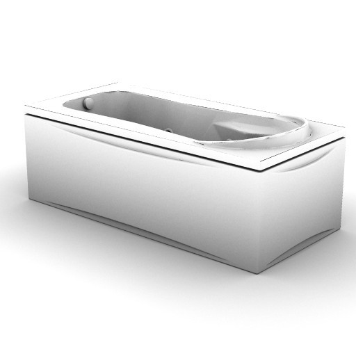 Cad 3D Free Model idealstandard Vasche  kimera_idro_k6887