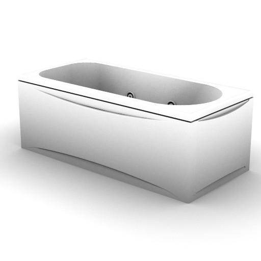 Cad 3D Free Model idealstandard Vasche  lemon_idro_t8395