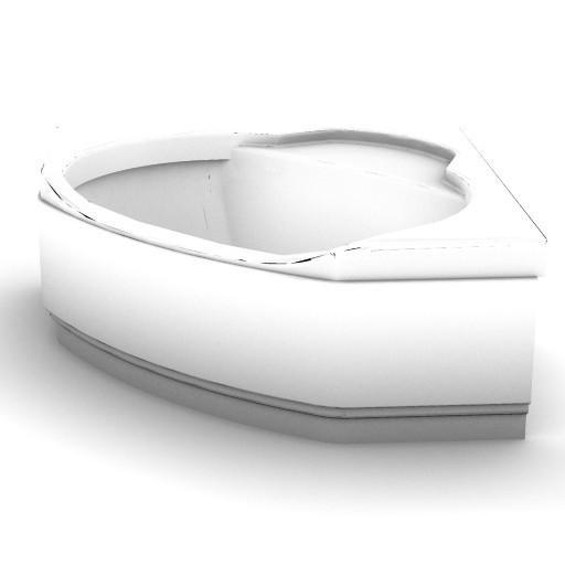 Cad 3D Free Model idealstandard Vasche  lido_t8515