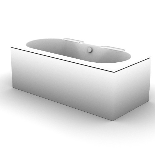 Cad 3D Free Model idealstandard Vasche  linda_t6051