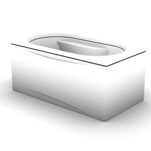 Cad 3D Free Model idealstandard Vasche  praxis_t8045