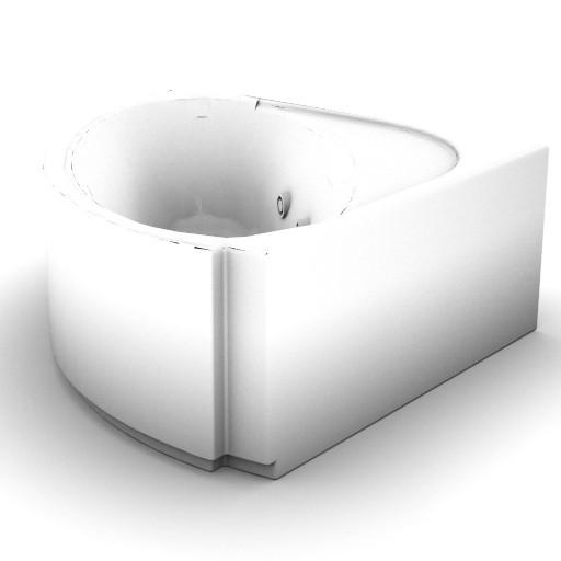 Cad 3D Free Model idealstandard Vasche  praxis_t8572