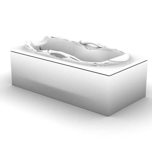 Cad 3D Free Model idealstandard Vasche  ruscella_t6425