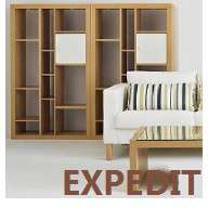 Cad 3D Free Model ikea  expedit