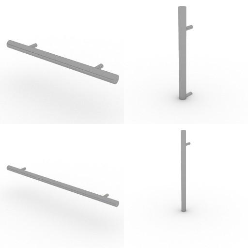Cad 3D Free Model ikea Pax  maniglie