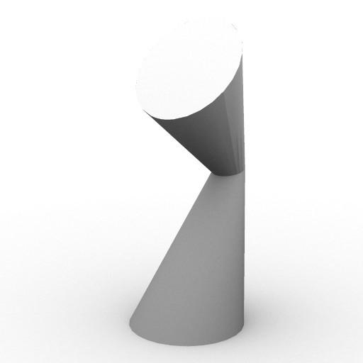 Cad 3D Free Model kundalini  lala_lamp_small