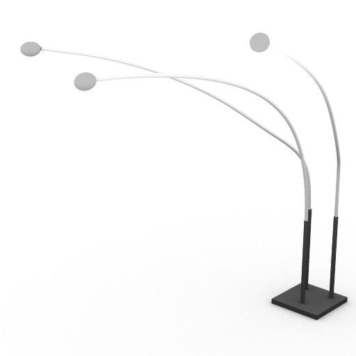 Cad 3D Free Model kundalini  ray_bow3